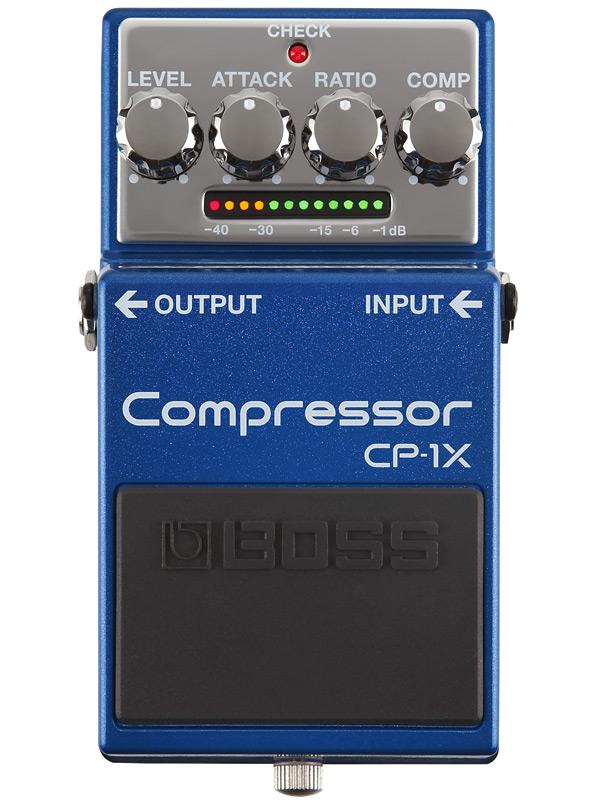 BOSS CP-1X 新品 Compressor[ボス][エフェクター,Effector][Compressor,コンプレッサー][CP1X]