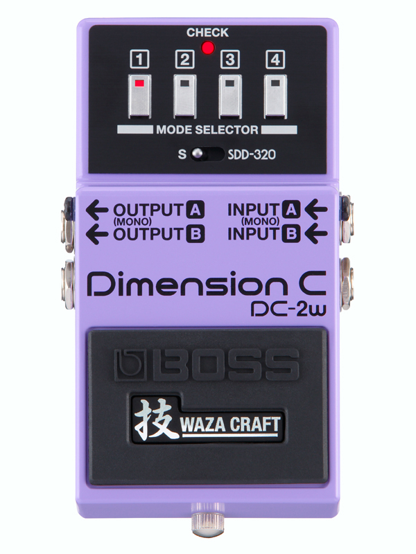 BOSS 新品 WAZA DC-2W 新品 Dimension C