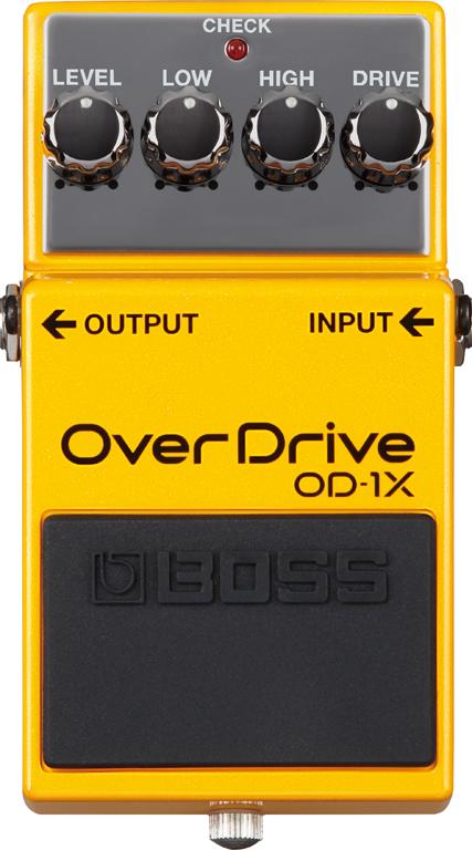 BOSS OD-1X 新品 Overdrive[ボス][OD1X][オーバードライブ][エフェクター,Effector]