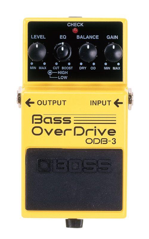 BOSS ODB-3 新品 Bass OverDrive[ボス][エフェクター,Effector][オーバードライブ][ベース用]
