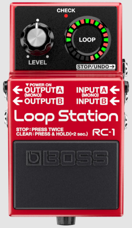 BOSS RC-1 新品 Loop Station[ボス][ループステーション][Looper,ルーパー][エフェクター,Effector]