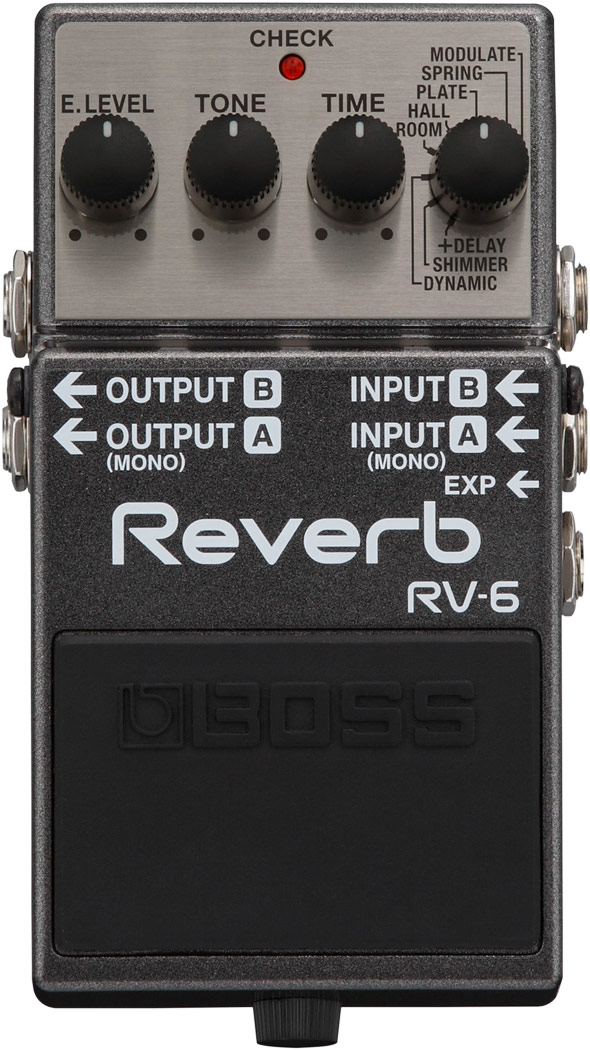 BOSS RV-6 Digital Reverb 新品 リバーブ[ボス][デジタル][Effector,エフェクター][RV6]