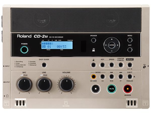 Roland CD-2u 新品 SD 定価 CDレコーダー Recorder 年間定番 CD2u ローランド