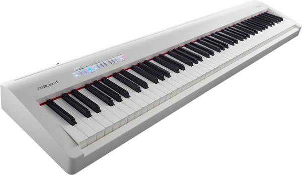 【スタンド別】Roland FP-30 Digital Piano 新品 ホワイト[ローランド][スピーカー内蔵][White,白][デジタルピアノ,電子ピアノ][Keyboard,キーボード][FP30]