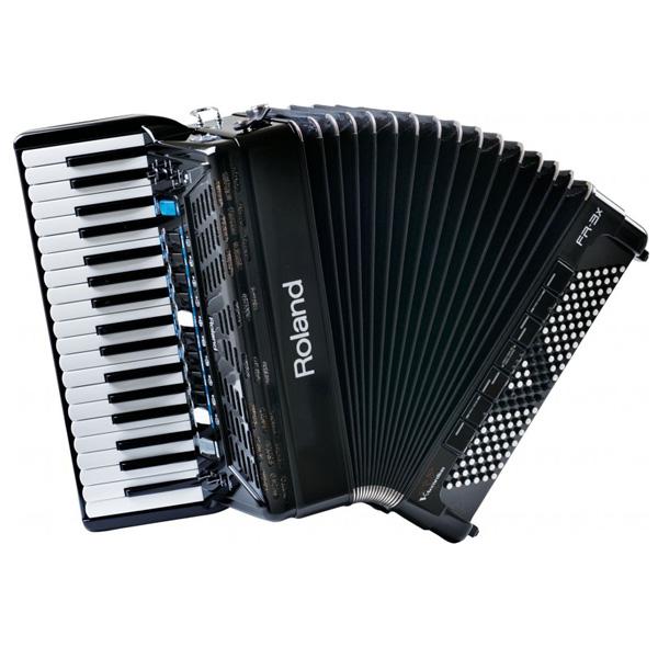 Roland FR-3X 新品 ブラック 37鍵盤 Vアコーディオン[ローランド][FR3X][Black,黒][37keys][Accordion]