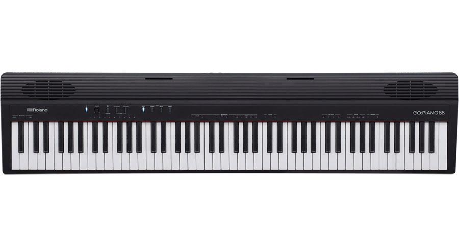 Roland GO:PIANO88 新品 88鍵盤 電子ピアノ [ローランド][88鍵盤,88keys][ブラック,黒][ピアノ][Keyboard,キーボード][GO-88P,GO PIANO]