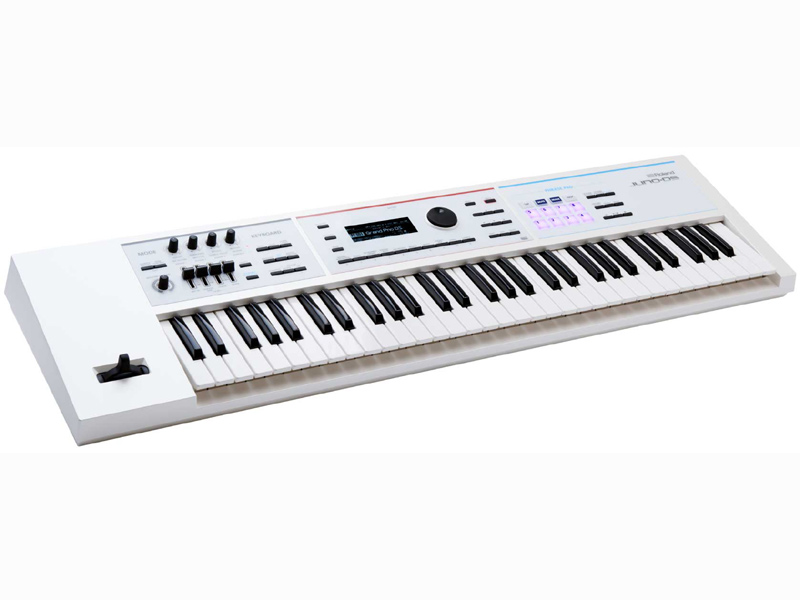 Roland JUNO-DS61W 新品[ローランド][ジュノ][61鍵盤][White,ホワイト,白][Synthesizer,シンセサイザー][Keyboard,キーボード]