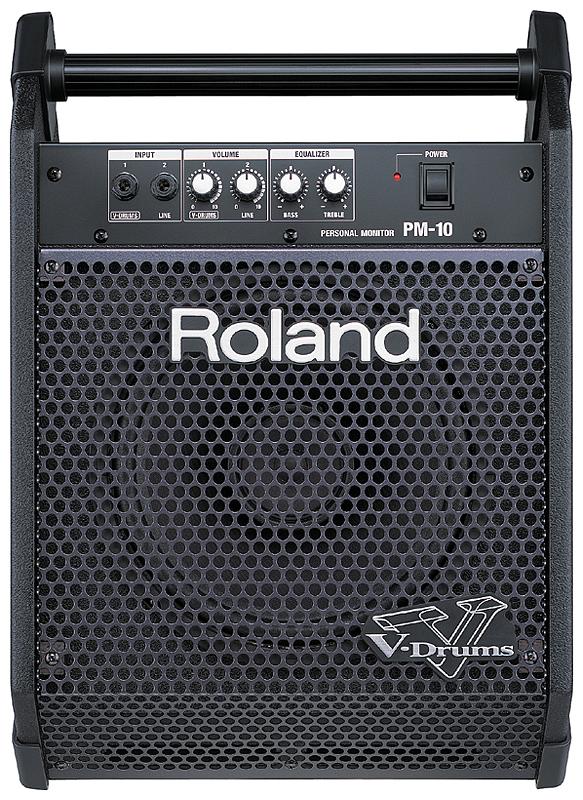 【30W】Roland PM-10 新品[ローランド][Personal Monitor for V-Drums,パーソナル モニター V-ドラム用]