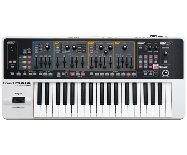 Roland SH-01 GAIA 37鍵盤 新品 Synthesizer[ローランド][バーチャルアナログシンセサイザー][Keyboard,キーボード][37key]