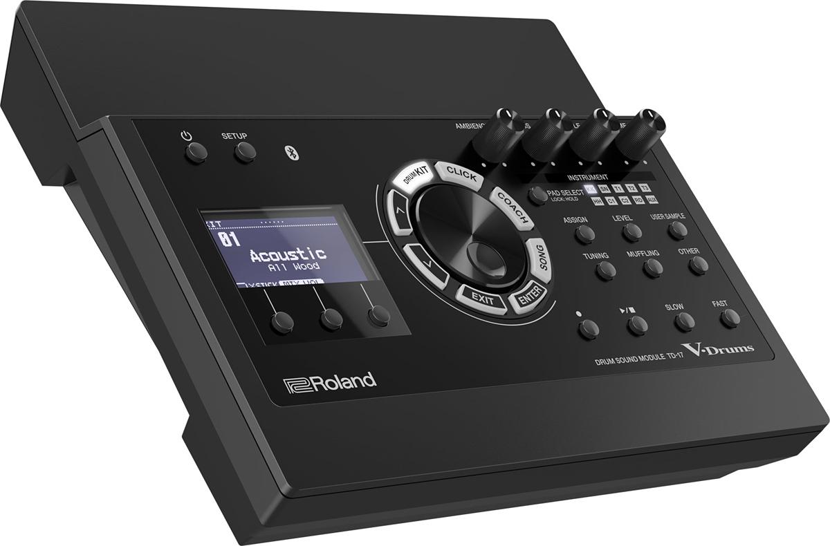 Roland TD-17 Drum Sound Module 新品[ローランド][ドラムサウンドモジュール][TD17]