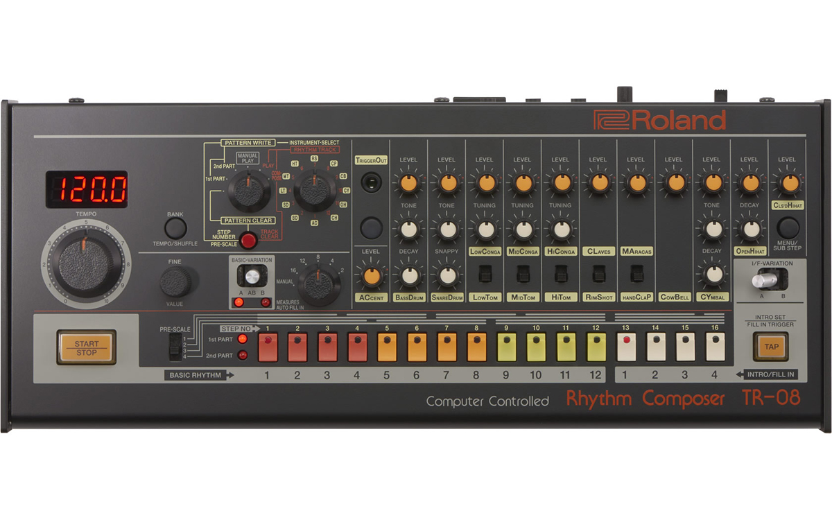 Roland TR-08 Rhythm Composer 新品 リズムマシン[ローランド][Boutique,ブティック][Rhythm Machine][TR08]