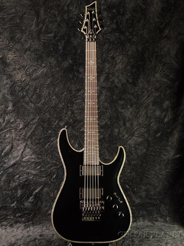 Schecter HELLRAISER AD-C-1-FR-HR Gross Black 新品[シェクター][ダイヤモンドシリーズ][ヘルレイザー][グロスブラック,黒][Stratocaster,ストラトキャスタータイプ][Electric Guitar,エレキギター]