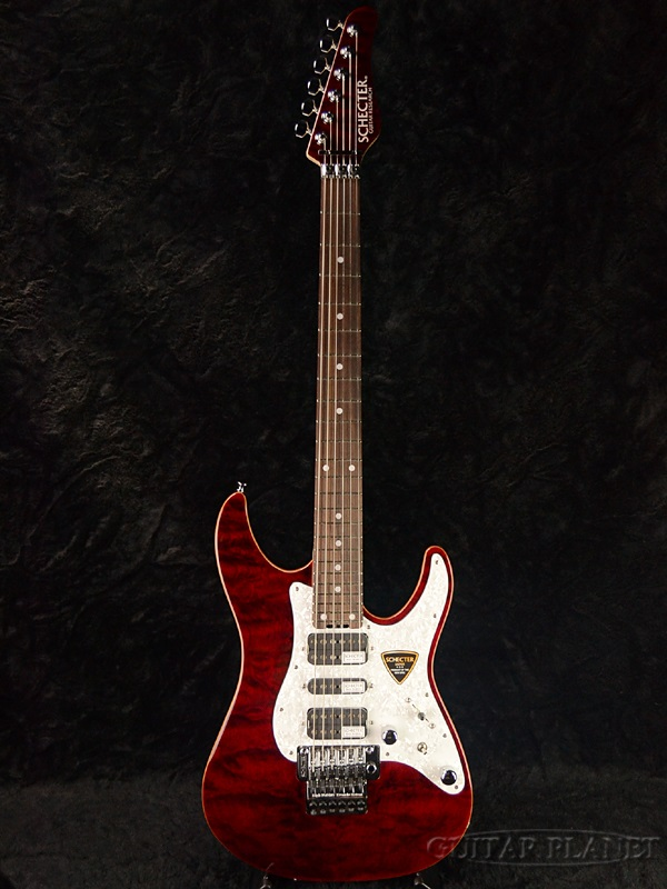 激安特価  Schecter Schecter SD-II-24-AL -See -See Thru SD-II-24-AL Red- 新品[シェクター][国産][アルダー][シースルーレッド,赤][Stratocaster,ストラトキャスタータイプ][Electric Guitar,エレキギター], ウブヤマムラ:9bcb31e0 --- annhanco.com