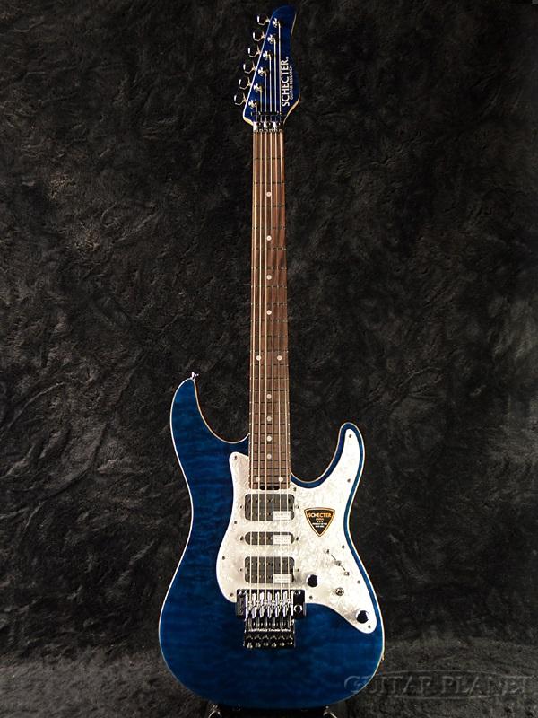 トミカチョウ Schecter SD-II-24-AL -Blue/Rose- 新品[シェクター][国産][アルダー][ブルー,青][Stratocaster,ストラトキャスタータイプ][Electric Schecter Guitar,エレキギター], 東灘区:8a50bcad --- annhanco.com
