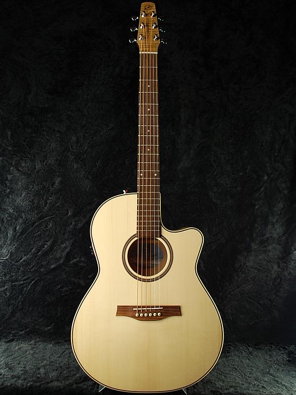 Seagull Perfomer Cutaway Folk Flame Maple High Gloss Quantum 新品 ナチュラル[シーガル][パフォーマー][クァンタム搭載][Natural][アコギ,アコースティックギター,Acoustic Guitar,フォークギター,folk guitar]