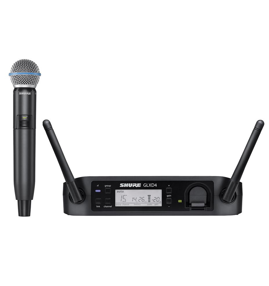 【正規品】SHURE GLXD24/BETA 58A 新品 ワイヤレスマイクシステム[シュアー][ハンドヘルド型][Wireless Microphone]