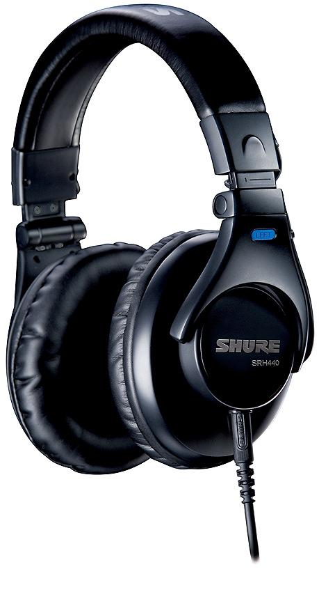 【正規品】SHURE SRH440 新品 密閉ダイナミック型ヘッドフォン[シュアー][Headphone][ヘッドホン][SRH-440]