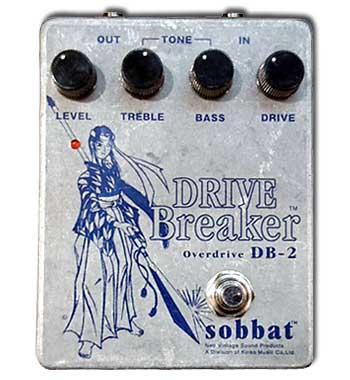 Sobbat Drive Breaker DB-2 新品[ソバット][ドライブ ブレイカー][オーバードライブ][エフェクター,Effector]