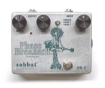 Sobbat Phase Breaker PB-2 新品[ソバット][フェイズ ブレイカー][フェイザー][エフェクター,Effector]