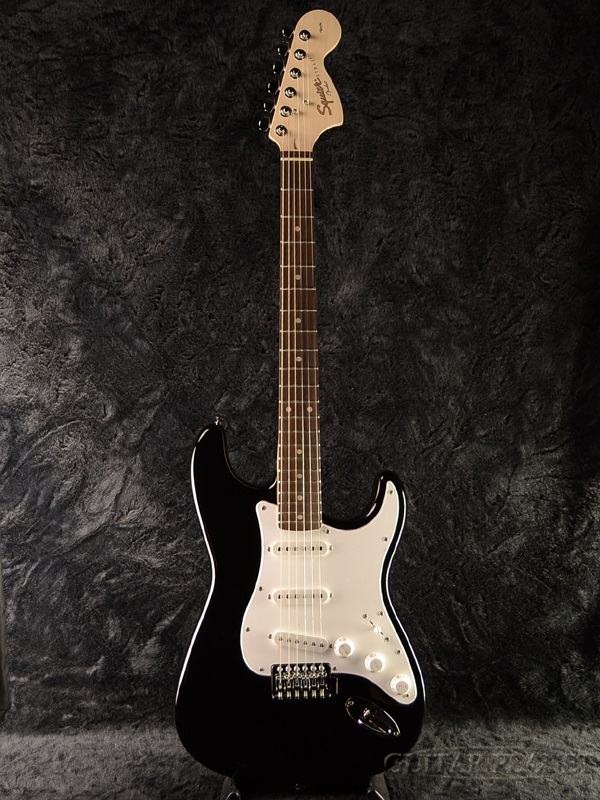 Squier Affinity Stratocaster Black/PF 新品[スクワイヤー][ブラック,黒][ストラトキャスター][Electric Guitar,エレキギター]