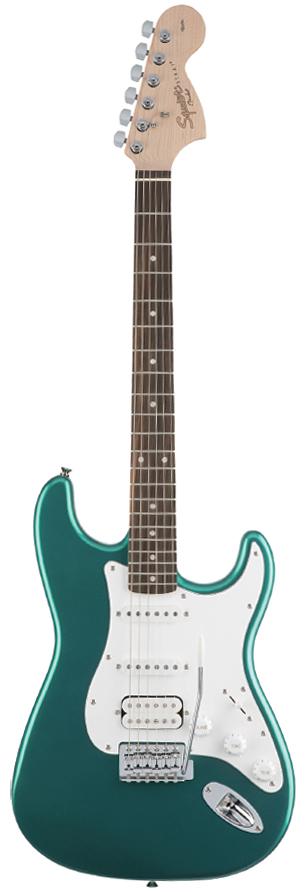 Squier Affinity Stratocaster HSS Race Green 新品[スクワイヤー][アフィニティー][レースグリーン,緑][ストラトキャスター][Electric Guitar,エレキギター]
