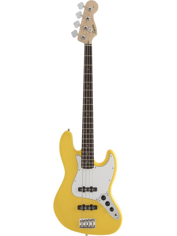 Squier Affinity Jazz Bass GFY 新品 グラフィティイエロー[スクワイヤー][ジャズベース][Graffiti Yellow,黄][Electric Bass,エレキベース]