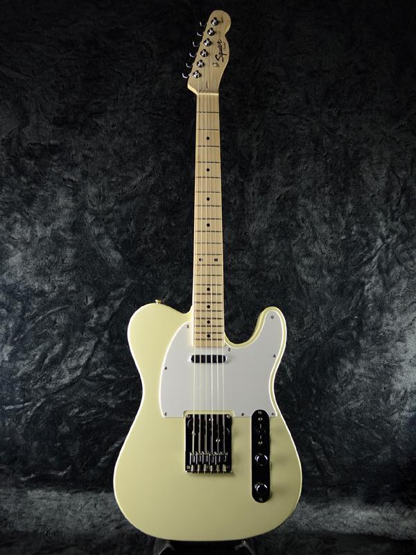 Squier Affinity Telecaster AWT 新品 アークティックホワイト[スクワイヤー][アフィニティ][テレキャスター,TL][Arctic White,白][エレキギター,Electric Guitar]