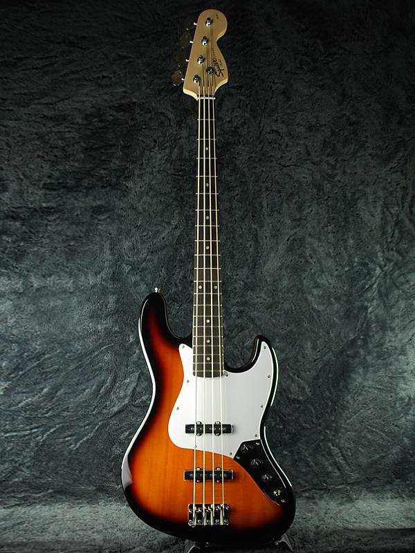 Squier Affinity Jazz Bass BSB 新品 ブラウンサンバースト[スクワイヤー][ジャズベース,JB][Brown Sunburst][Electric Bass,エレキベース]