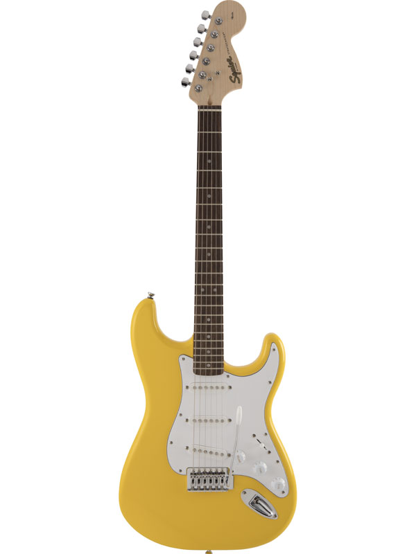 Squier Affinity Stratocaster GFY 新品 グラフィティイエロー[スクワイヤー][ストラトキャスター][Graffiti Yellow,黄][エレキギター,Electric Guitar]
