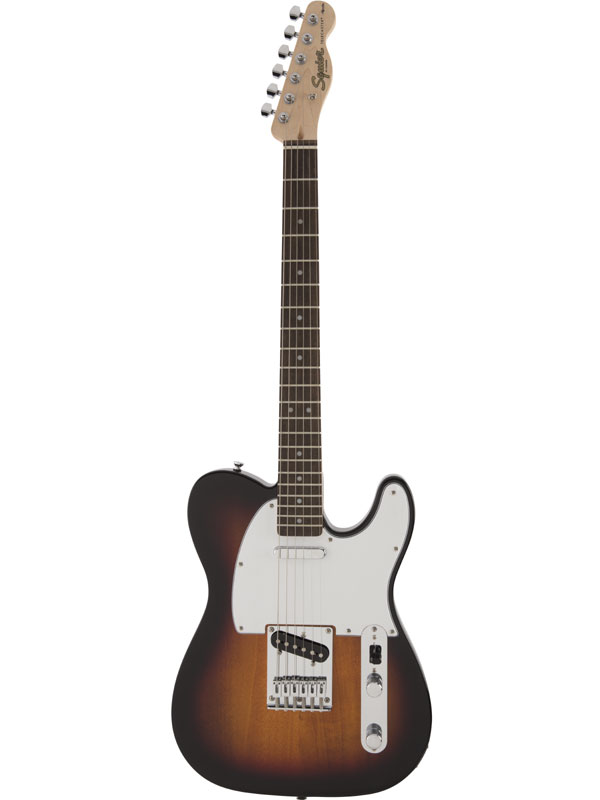 Squier Affinity Telecaster 3TS 新品 3トーンサンバースト[スクワイヤー][テレキャスター][3 Tone Sunburst][エレキギター,Electric Guitar]