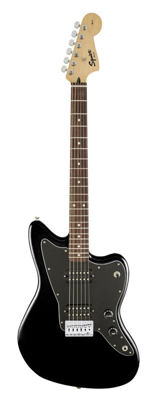 Squier Affinity Jazzmaster HH Black 新品[スクワイヤー][アフィニティ][ジャズマスター][Humbucker,ハムバッカー][ブラック,黒][Electric Guitar,エレキギター]