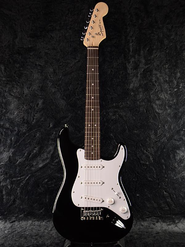Squier Mini Stratocaster V2 BLK 新品 ブラック[スクワイヤー][Black,黒][ミニストラトキャスター][Bullet][エレキギター,Electric Guitar]