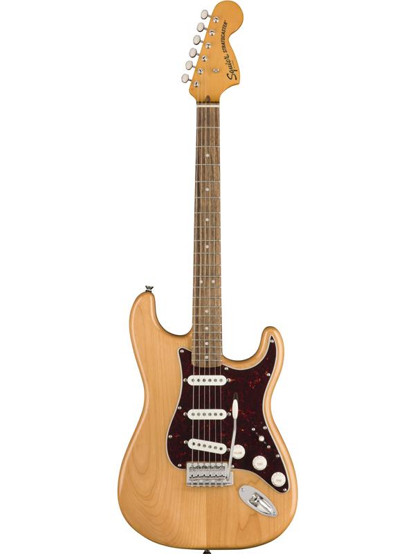Squier Classic Vibe 70s Stratocaster -Natural- 新品 ナチュラル[スクワイヤー][Stratocaster,ストラトキャスタータイプ][Electric Guitar,エレキギター]
