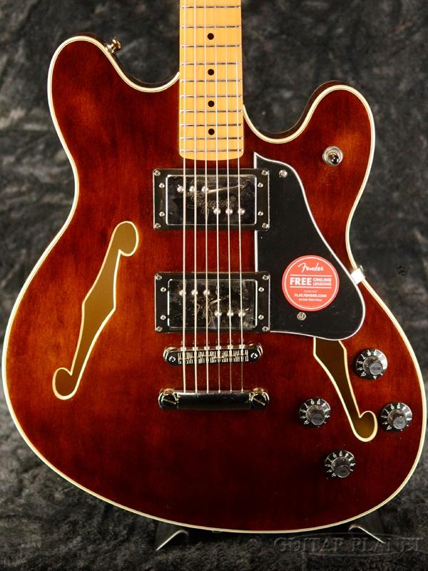 第一ネット Squier Classic Vibe Starcaster -Walnut / Maple- 新品 ウォルナット[Fender,スクワイヤー,フェンダー][スターキャスター][Semi Acoustic,セミアコースティック][Brown,ブラウン,茶][Electric Guitar,エレキギター], DUSK f820f2c4
