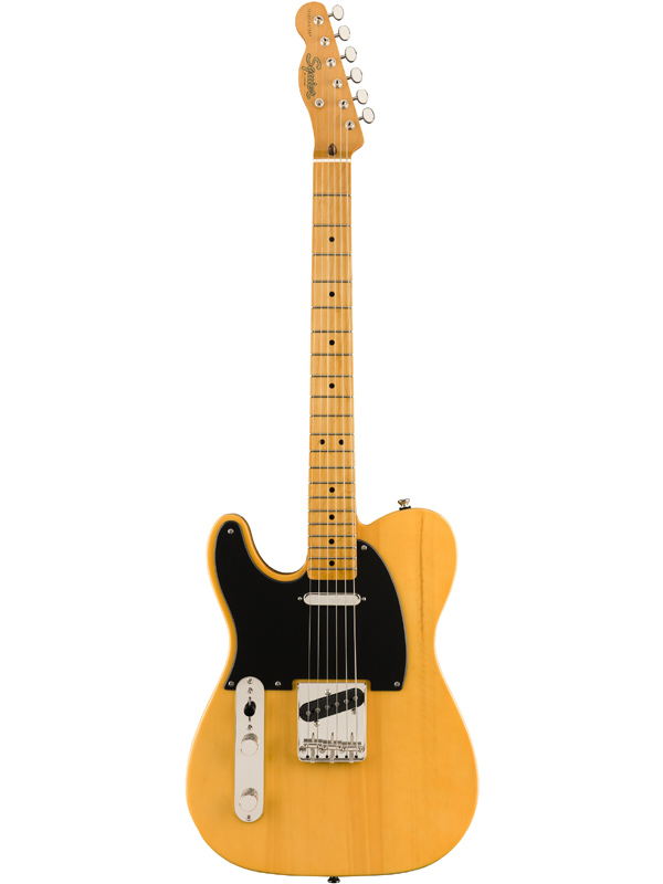 Squier Classic Vibe '50s Telecaster Left-Handed -Butterscotch Blonde / Maple- 新品 バタースコッチブロンド[Fender,スクワイヤー,フェンダー][テレキャスター][Yellow,イエロー,黄][Electric Guitar,エレキギター]