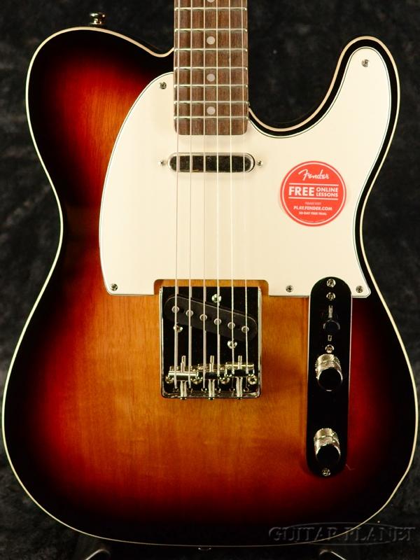 Squier Classic Vibe '60s Custom Telecaster -3-Color Sunburst / Laurel- 新品 3カラーサンバースト[Fender,スクワイヤー,フェンダー][カスタムテレキャスター][Electric Guitar,エレキギター]