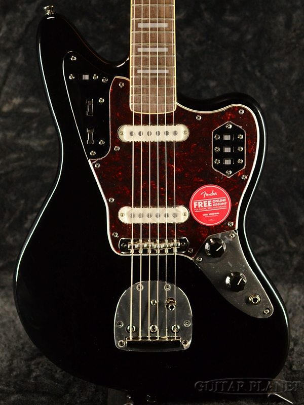 Squier Classic Vibe 70s Jaguar -Black- 新品 ブラック[スクワイヤー][ジャガー][黒][Electric Guitar,エレキギター]