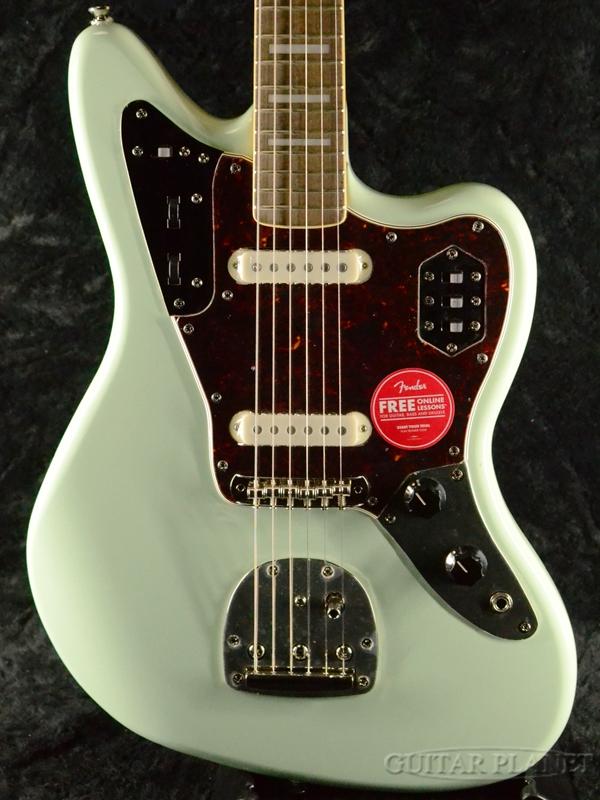 逆輸入 Squier -Surf Classic Vibe 70s Jaguar -Surf Green- Green- Squier 新品 サーフグリーン[スクワイヤー][ジャガー][緑][Electric Guitar,エレキギター], ショウズグン:c7a38f24 --- beautyflurry.com