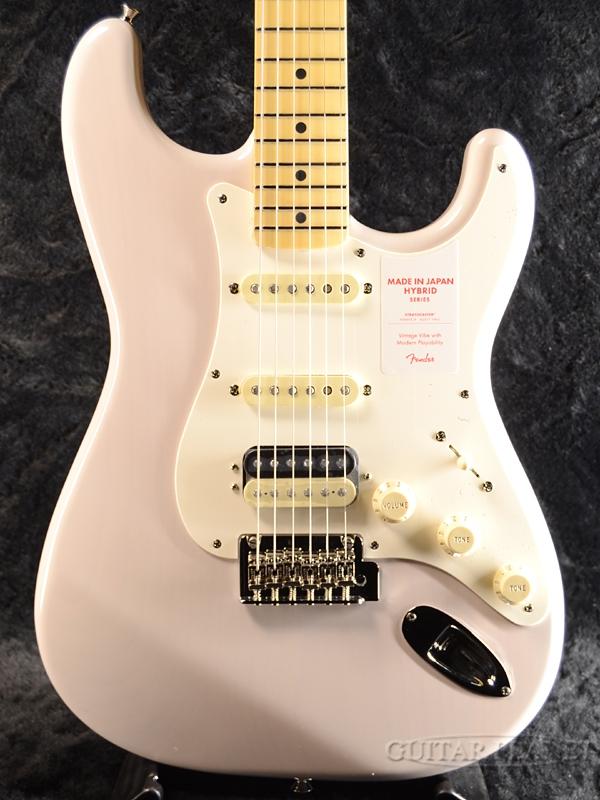 Fender Made in Japan Hybrid 50s Stratocaster HSS -US Blonde- 新品 《レビューを書いて特典プレゼント!!》[フェンダージャパン][ハイブリッド][White,ブロンド,ホワイト,白][ストラトキャスター][Electric Guitar,エレキギター]