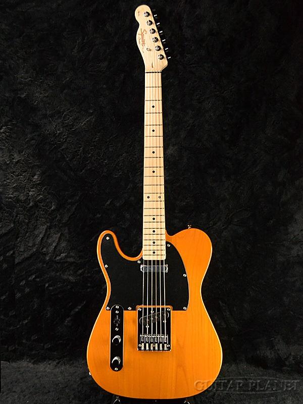 Squier Affinity Telecaster LH BTB 新品 レフティ[スクワイヤー][テレキャスター,TL][Left Hand,Lefty,左用][Butterscotch Blonde,バタースコッチブロンド][エレキギター,Electric Guitar]