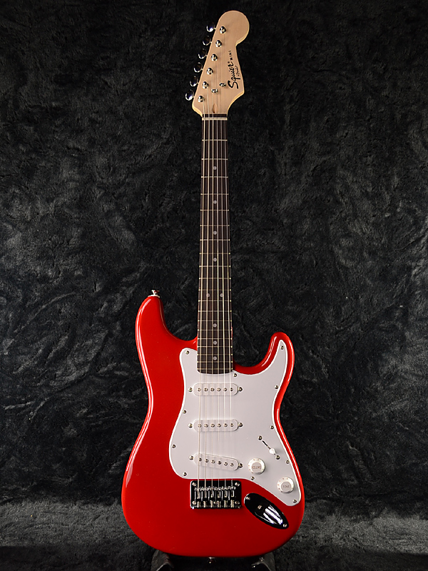 Squier Mini Stratocaster V2 TRD 新品 トリノレッド[スクワイヤー][Torino Red,赤][ミニストラトキャスター][Bullet][エレキギター,Electric Guitar]