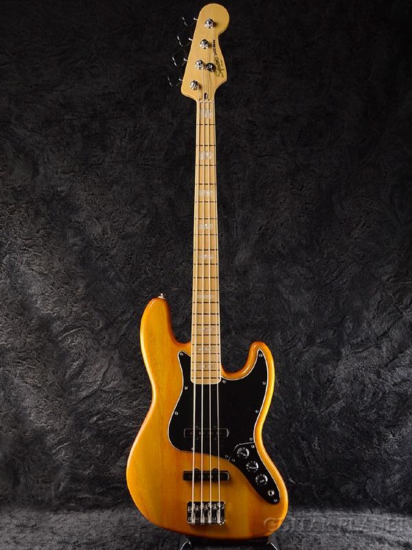 Squier Vintage Modified Jazz Bass '77 新品 アンバー[スクワイヤー][ジャズベース,JB][Amber][Electric Bass,エレキベース]