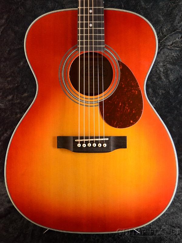 Stafford SF-3F Cherry Sunburst Satin w/Fishman Sonitone 新品 チェリー[スタッフォード][SF3F][Red,レッド,赤][フィッシュマン][Electric Acoustic Guitar,アコースティックギター,アコギ,エレアコ]