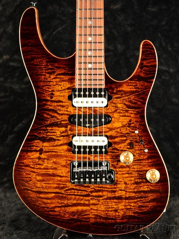 【3.4kg】Suhr Custom Modern -Bengal Burst- 新品[サー][ベンガルバースト,茶][Stratocaster,ストラトキャスター][Electric Guitar,エレキギター]