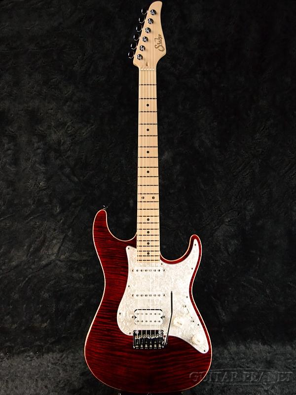 Suhr Standard Pro -Chili Pepper Red- 新品[サー][スタンダードプロ][ステンレスフレット][チリペッパーレッド,赤][Stratocaster,ストラトキャスタータイプ][Electric Guitar,エレキギター]