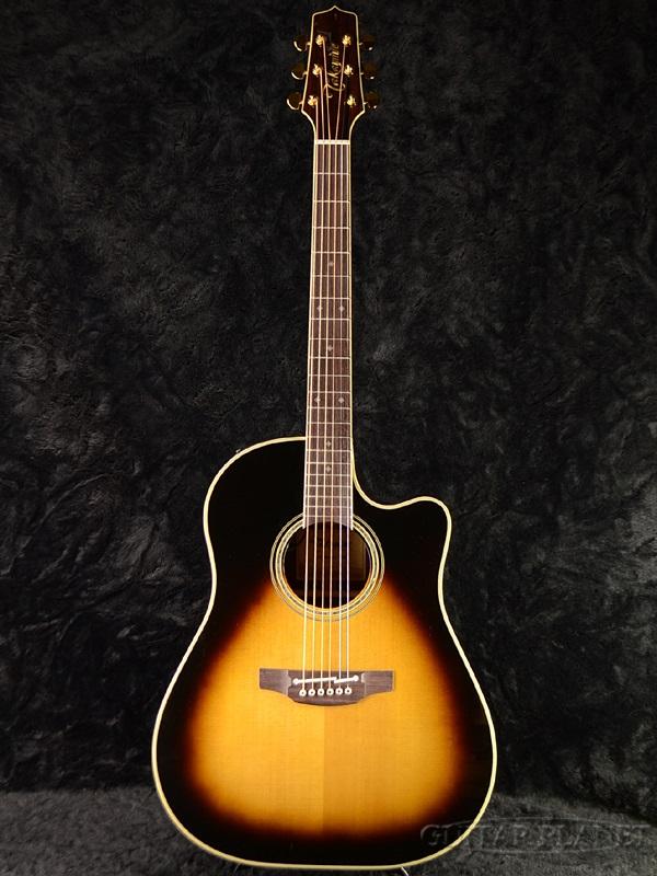 Takamine PTU841C TBS 新品[タカミネ][国産][Tobacco Sunburst,タバコサンバースト][エレアコ,Acoustic Guitar,アコースティックギター,Folk Guitar,フォークギター]