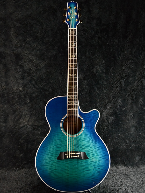 Takamine TDP181AC -See-through Blue Burst (SBB)- 新品[タカミネ,高峰楽器][国産][シースルーブルーバースト,青][Electric Acoustic Guitar,アコースティックギター,エレアコ,アコギ]