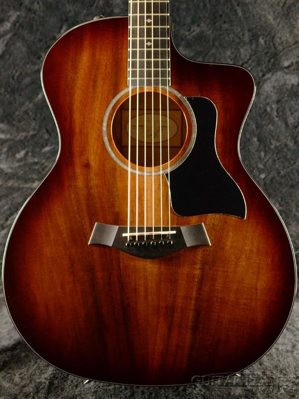 Taylor 224ce-Koa-DLX #2107249146 新品[テイラー][Sunburst,サンバースト][Hawaiian Koa,ハワイアンコア][Acoustic Guitar,アコギ,アコースティックギター,Folk Guitar,フォークギター]