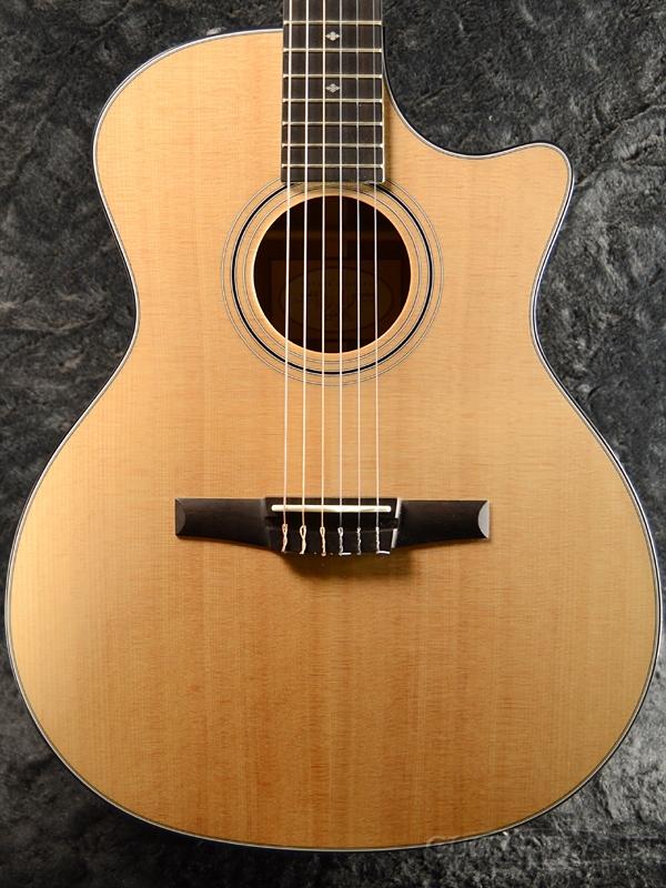 Taylor 314ce-Nylon 新品 エレガット[テイラー][Nylon][Natural,ナチュラル,木目][Classical Guitar,クラシックギター]
