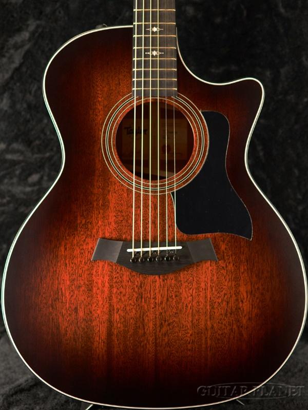 Taylor 324ce Blackwood V-Class w/Expression System 2 #1111088065 新品[テイラー][エレアコ][Sunburst,サンバースト][ブラックウッド][Acoustic Guitar,アコースティックギター]